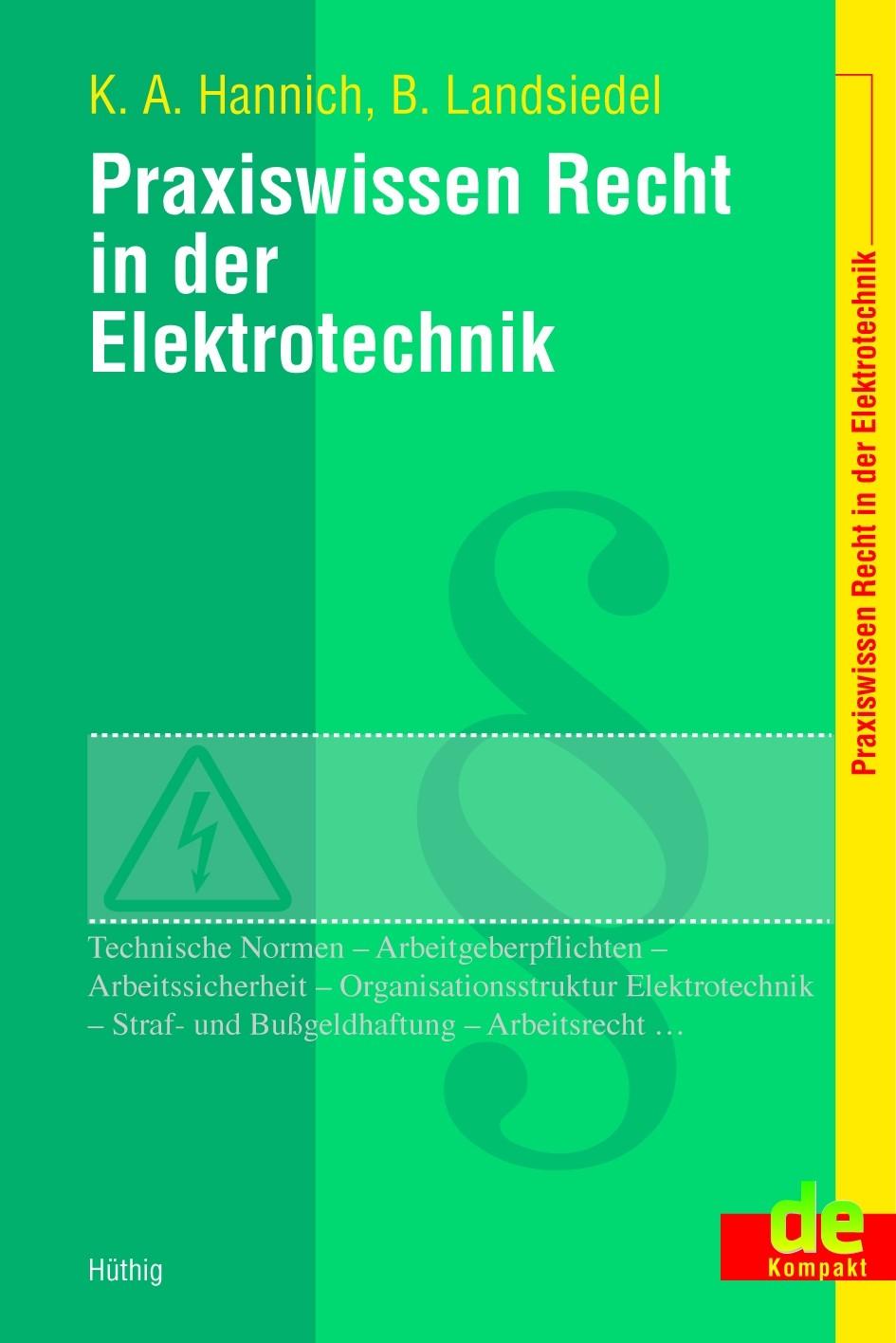Praxiswissen Recht in der Elektrotechnik