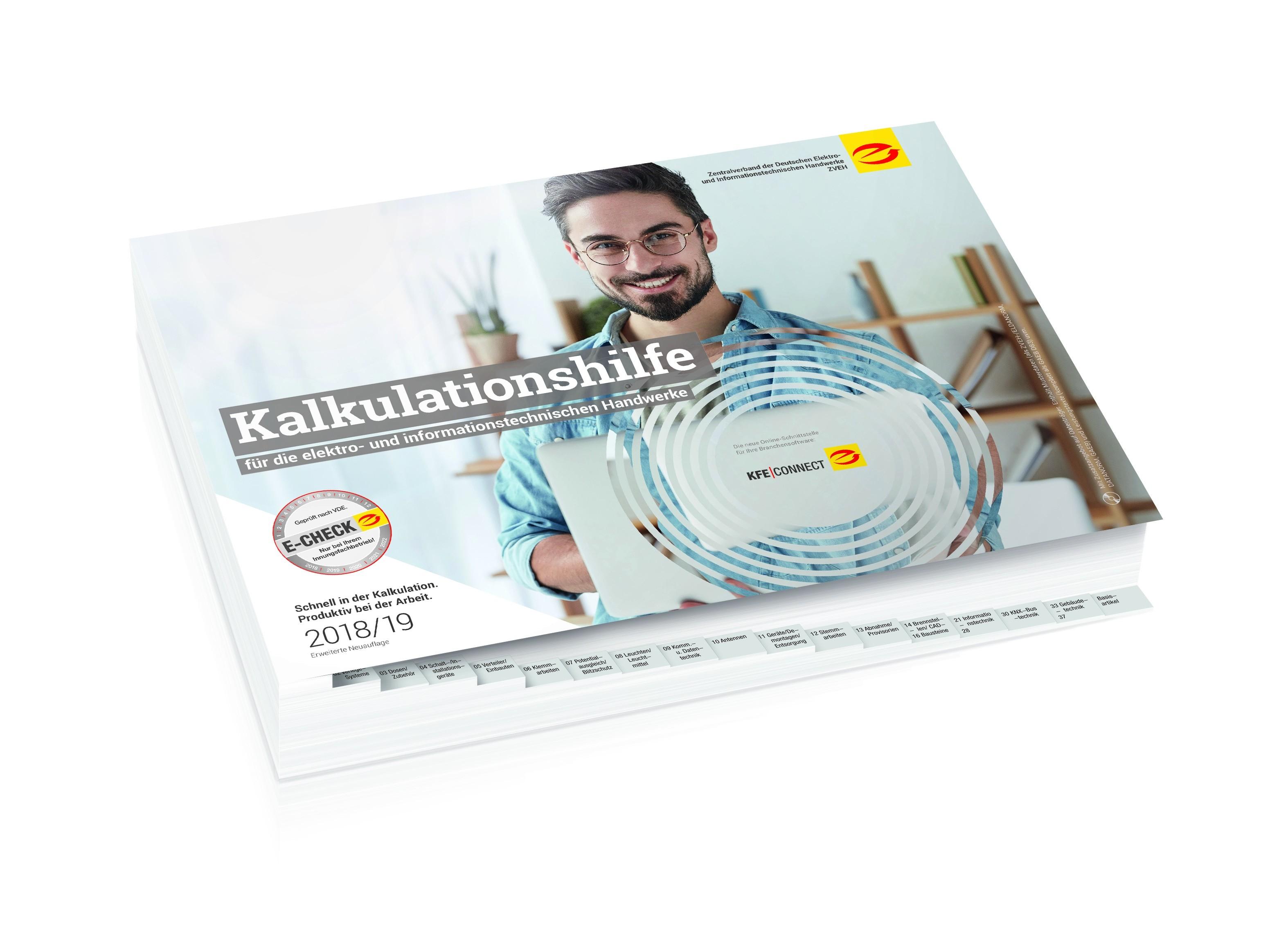 Kalkulationshilfe Buchausgabe 2018 / 19