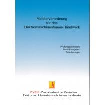 Meisterverordnung für das Elektromaschinenbauer-Handwerk