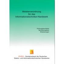 Meisterverordnung für das Informationstechniker-Handwerk