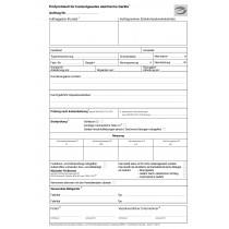 Prüfprotokoll für instandgesetzte elektrische Geräte mit E-Marke