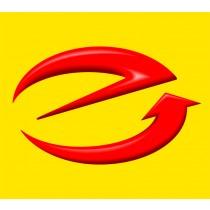 E-Marken Aufkleber Größe M