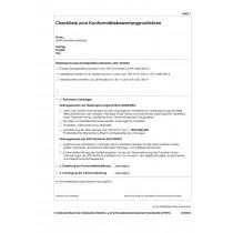 Konformitätsbewertungsverfahren / Konformitätserklärung (Nachweise) für Niederspannungs-Schaltgerätekombinationen und Verteiler ohne Logo