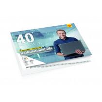 Kalkulationshilfe Buchausgabe 2021/2022 im Abonnement (Lieferung ca. September 2021)