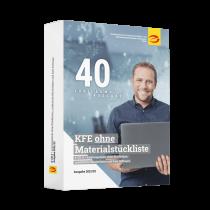 KFE-Daten ohne Materialstückliste im Abonnement, Ausgabe 2021/22 (Lieferung ca. September 2021)