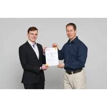 Zertifikat für die Qualifzierungsmaßnahme E-CHECK Elektromaschinenbau (EMA)