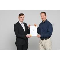 Zertifikat für die Qualifzierungsmaßnahme E-CHECK IT