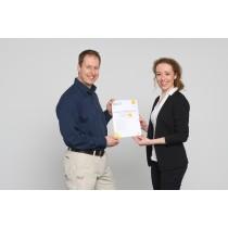 Zertifikat für die Weiterbildung zum Fachbetrieb E-Mobilität